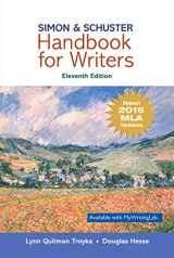 Simon & Schuster Handbook for Writers, MLA Update (11th Edition)