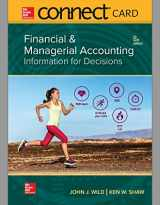 9781260417173-1260417174-Connect Access Card for Financial and Managerial Accounting