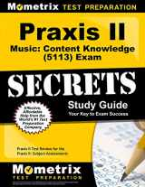 9781610726986-1610726987-Praxis II Music: Content Knowledge (5113) Exam Secrets Study Guide: Praxis II Test Review for the Praxis II: Subject Assessments (Mometrix Secrets Study Guides)