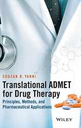 9781118838273-1118838270-Translational ADMET for Drug Therapy: Principles, Methods, and Pharmaceutical Applications