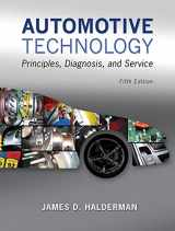 Automotive Technology: Principles, Diagnosis, and Service Plus MyAutomotiveLab with Pearson eText -- Access Card Package (5th Edition) (Automotive Comprehensive Books)