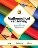 9780321923240-0321923243-Mathematical Reasoning for Elementary Teachers Plus NEW MyLab Math with Pearson eText -- Access Card Package (7th Edition)