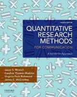 9780190861063-0190861061-Quantitative Research Methods for Communication: A Hands-On Approach
