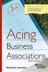 9781634596008-1634596005-Acing Business Associations (Acing Series)