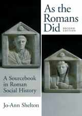 9780195089745-019508974X-As the Romans Did: A Sourcebook in Roman Social History, 2nd Edition