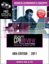 Bisk CPA Review: Business Environment & Concepts - 40th Edition 2011 (Comprehensive CPA Exam Review Business Environment & Concepts) (Cpa Comprehensive Exam Review. Business Environment and Concepts)