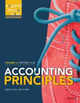 Accounting Principles, Volume 2: Chapters 13 - 26