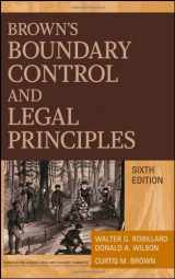 9780470183540-0470183543-Brown's Boundary Control and Legal Principles