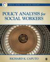 9781452203270-145220327X-Policy Analysis for Social Workers (Social Work in the New Century)