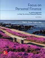 9781260140996-1260140997-Loose Leaf for Focus on Personal Finance