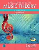 9780134419787-0134419782-Basic Materials in Music Theory: A Programed Course, Books a la Carte (13th Edition) (What's New in Music)