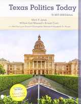 9781337598033-1337598038-Bundle: Texas Politics Today 2017-2018 Edition, Loose-Leaf Version,18th + MindTap Political Science, 1 term (6 months) Printed Access Card