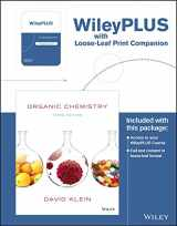 Organic Chemistry, 3rd Edition WileyPLUS Registration Card + Study Guide + Loose-leaf Print Companion