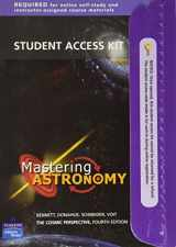 Mastering Astronomy Student Access Kit (To Accompany The Cosmic Perspective 4th Ed.)