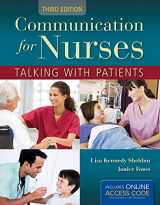 9781449691776-1449691773-Communication for Nurses: Talking with Patients