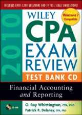 Wiley CPA Exam Review 2010 Test Bank CD: Financial Accounting and Reporting
