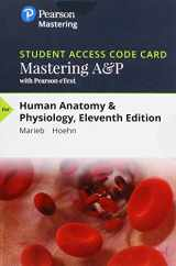 MasteringA&P with Pearson eText -- Standalone Access Card -- for Human Anatomy & Physiology (11th Edition)