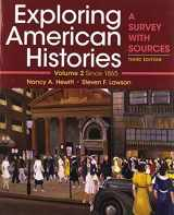 9781319106423-1319106420-Exploring American Histories, Volume 2: A Survey with Sources