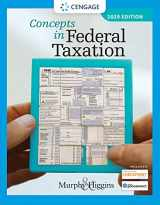9780357110362-0357110366-Concepts in Federal Taxation 2020 (with Intuit ProConnect Tax Online 2020 and RIA Checkpoint 1 term (6 months) Printed Access Card)