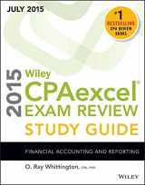 Wiley CPAexcel Exam Review 2015 Study Guide July: Financial Accounting and Reporting (Wiley Cpa Exam Review)