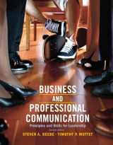 9780205028993-0205028993-Business & Professional Communication: Principles and Skills for Leadership (2nd Edition)