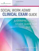 9780826172013-0826172016-Social Work ASWB Clinical Exam Guide: A Comprehensive Study Guide for Success