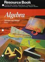 9780395470473-0395470471-McDougal Littell Structure & Method: Resource Book 1