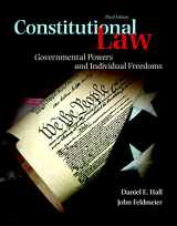 9780133767698-0133767698-Constitutional Law: Governmental Powers and Individual Freedoms (3rd Edition)