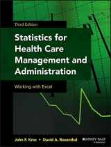 9781118712658-111871265X-Statistics for Health Care Management and Administration: Working with Excel (Public Health/Epidemiology and Biostatistics)