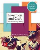 9781259988660-125998866X-Invention & Craft MLA 2016 UPDATE