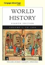 Cengage Advantage Books: World History, Volume I