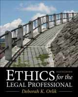 9780133109290-0133109291-Ethics for the Legal Professional (8th Edition)