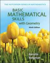 9780073384443-0073384445-Basic Mathematical Skills with Geometry (The Hutchison Series in Mathematics)