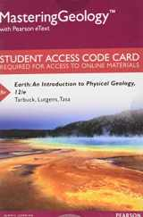 9780134288246-0134288246-MasteringGeology with Pearson eText -- Standalone Access Card -- for Earth: An Introduction to Physical Geology (12th Edition)