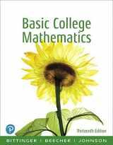 9780134689623-0134689623-Basic College Mathematics (13th Edition)