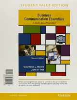 Business Communication Essentials, Student Value Edition Plus MyBCommLab with Pearson eText -- Access Card Package (7th Edition)