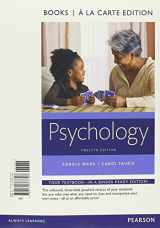 9780134377797-0134377796-Psychology, Books a la Carte Edition (12th Edition)