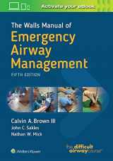 9781496351968-1496351967-The Walls Manual of Emergency Airway Management