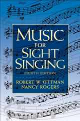 9780205760084-0205760082-Music for Sight Singing (8th Edition)