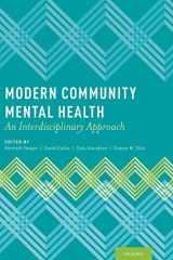 9780199798063-0199798060-Modern Community Mental Health: An Interdisciplinary Approach