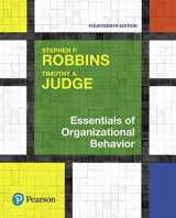 9780134640105-0134640101-Essentials of Organizational Behavior, Student Value Edition Plus MyLab Management with Pearson eText -- Access Card Package (14th Edition)