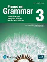 9780134583297-0134583299-Focus on Grammar 3 with Essential Online Resources (5th Edition)