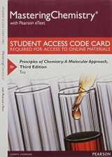 MasteringChemistry with Pearson eText -- Standalone Access Card -- for Principles of Chemistry: A Molecular Approach (3rd Edition)