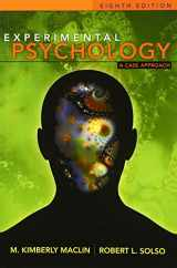9780205410286-0205410286-Experimental Psychology: A Case Approach (8th Edition)