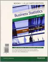 9780133873634-0133873633-Business Statistics Student Value Edition Plus NEW MyStatLab with Pearson eText -- Access Card Package (3rd Edition) (Books a la Carte)