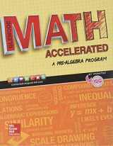 9780076721184-0076721183-Glencoe Math Accelerated 2017 Student Edition (MATH APPLIC & CONN CRSE)