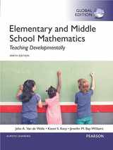 9781292097695-1292097698-Elementary and Middle School Mathematics: Teaching Developmentally, Global Edition