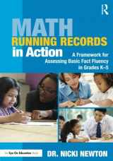 9781138927643-1138927643-Math Running Records in Action (Eye on Education Books)