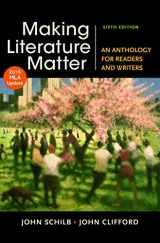 9781319088101-1319088104-Making Literature Matter with 2016 MLA Update