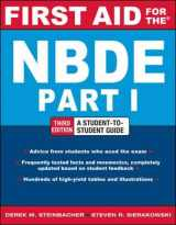 9780071769044-0071769048-First Aid for the NBDE Part 1, Third Edition (First Aid Series)